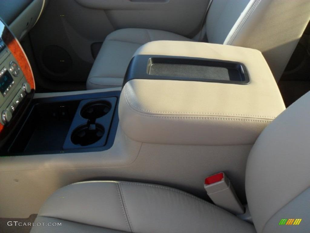 2012 Silverado 1500 LTZ Crew Cab 4x4 - White Diamond Tricoat / Light Cashmere/Dark Cashmere photo #8