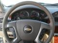 2012 Chevrolet Silverado 1500 Light Cashmere/Dark Cashmere Interior Steering Wheel Photo