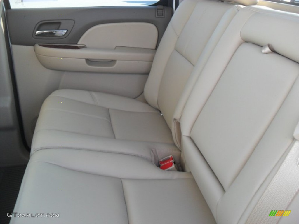 2012 Silverado 1500 LTZ Crew Cab 4x4 - White Diamond Tricoat / Light Cashmere/Dark Cashmere photo #14