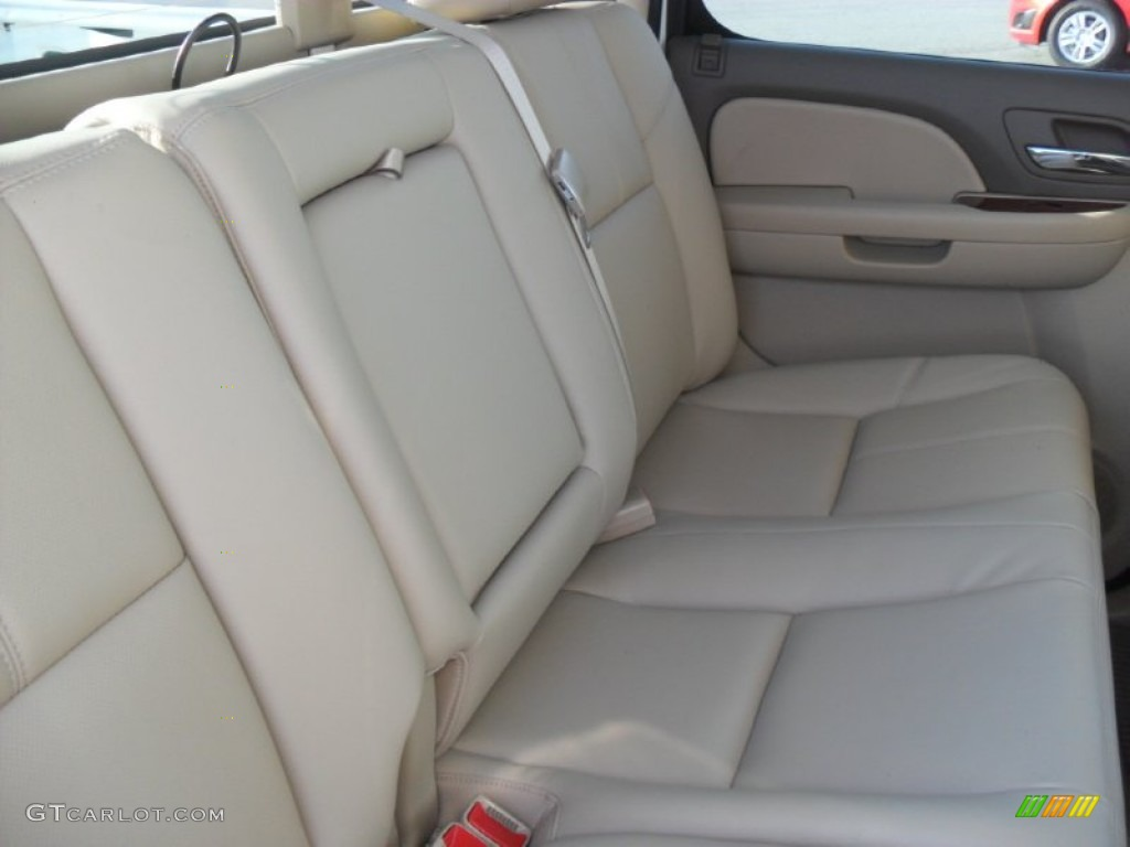2012 Silverado 1500 LTZ Crew Cab 4x4 - White Diamond Tricoat / Light Cashmere/Dark Cashmere photo #18