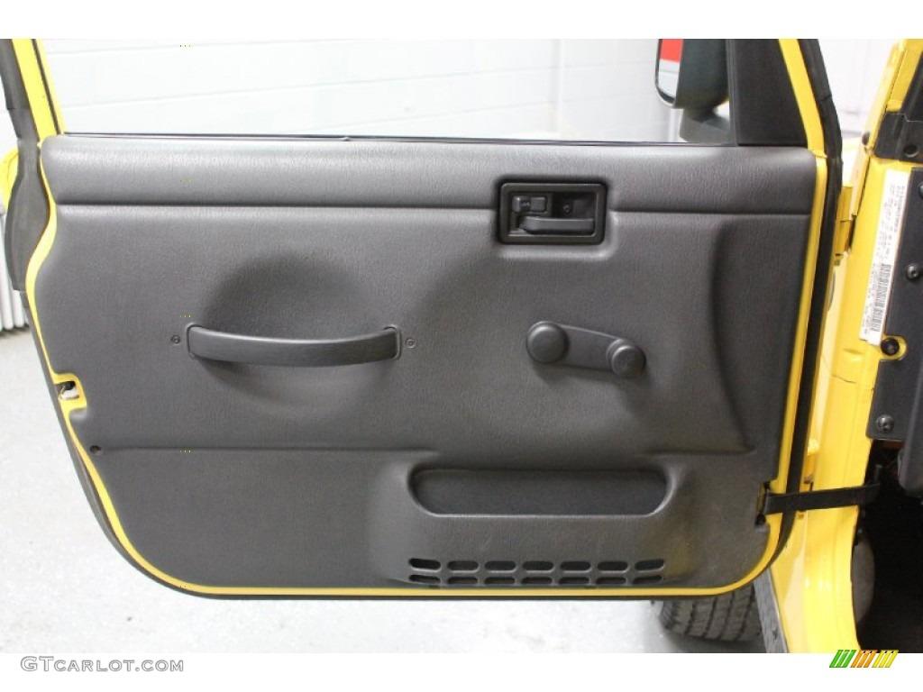 2004 Jeep Wrangler Rubicon 4x4 Door Panel Photos