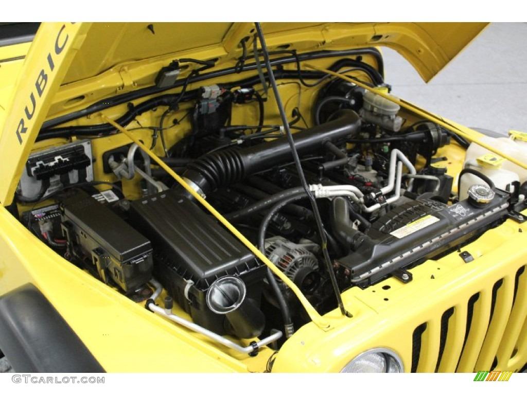 2004 jeep wrangler rubicon 4x4 4 0 liter ohv 12 valve inline 6 cylinder engine photo 59579004. Black Bedroom Furniture Sets. Home Design Ideas
