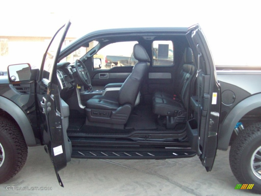 raptor black interior 2010 ford f150 svt raptor supercab 4x4 photo 59579190