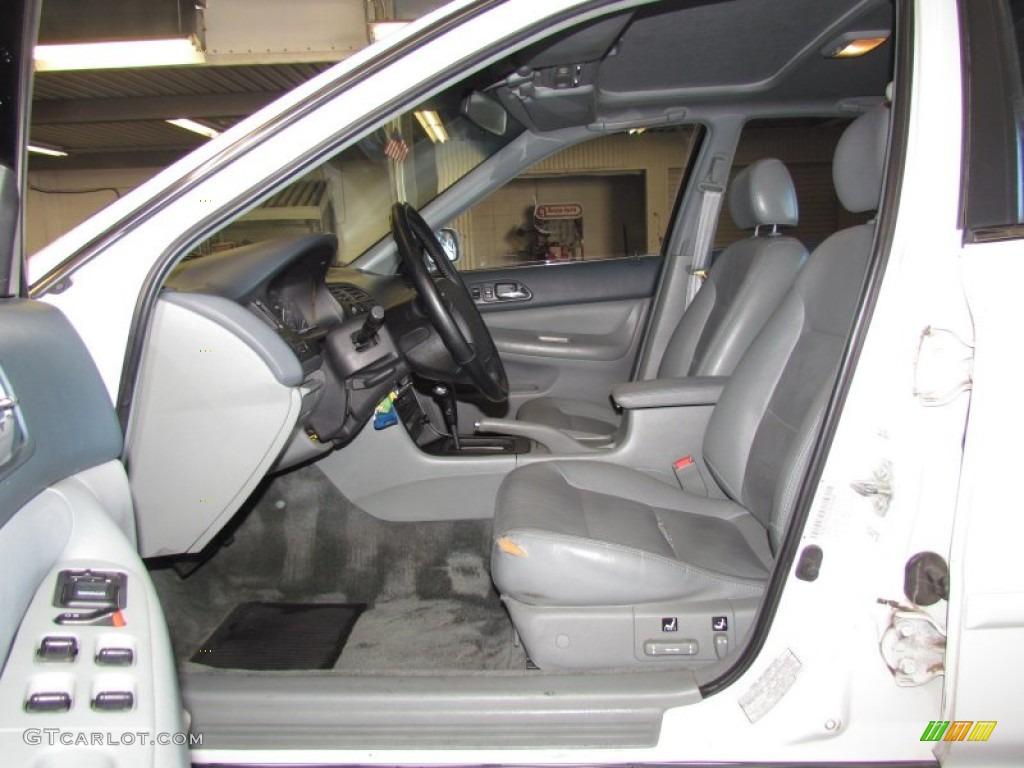 Gray Interior 1996 Honda Accord Ex V6 Sedan Photo 59581416