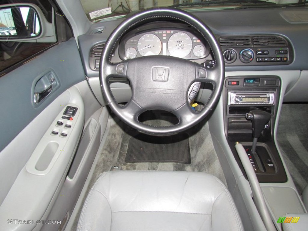1996 Honda Accord Ex V6 Sedan Gray Dashboard Photo