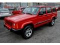 Flame Red 2001 Jeep Cherokee Gallery
