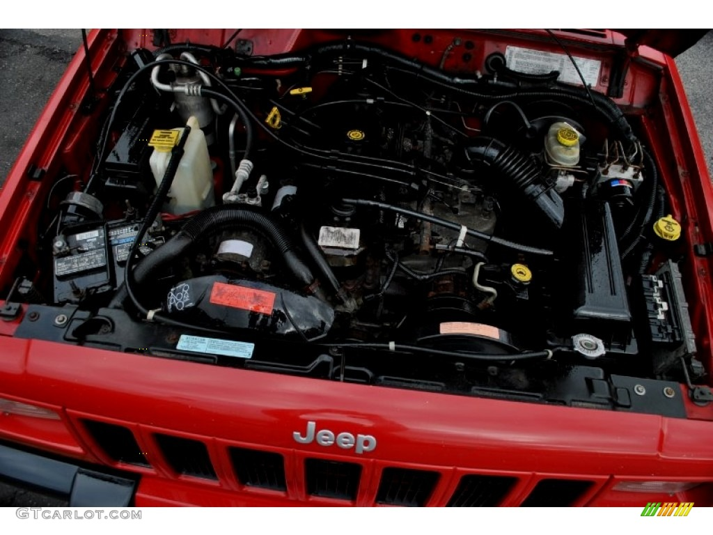2001 jeep cherokee sport 4x4 4 0 litre ohv 12 valve inline 6 cylinder engine photo 59586336. Black Bedroom Furniture Sets. Home Design Ideas
