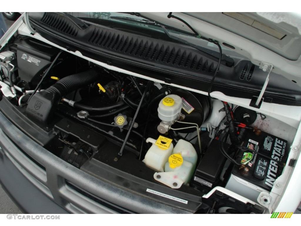 2003 Dodge Ram Van 1500 Cargo 3 9 Liter Ohv 12 Valve V6 Engine Photo 59589378