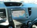 2012 Honda CR-V Black Interior Navigation Photo
