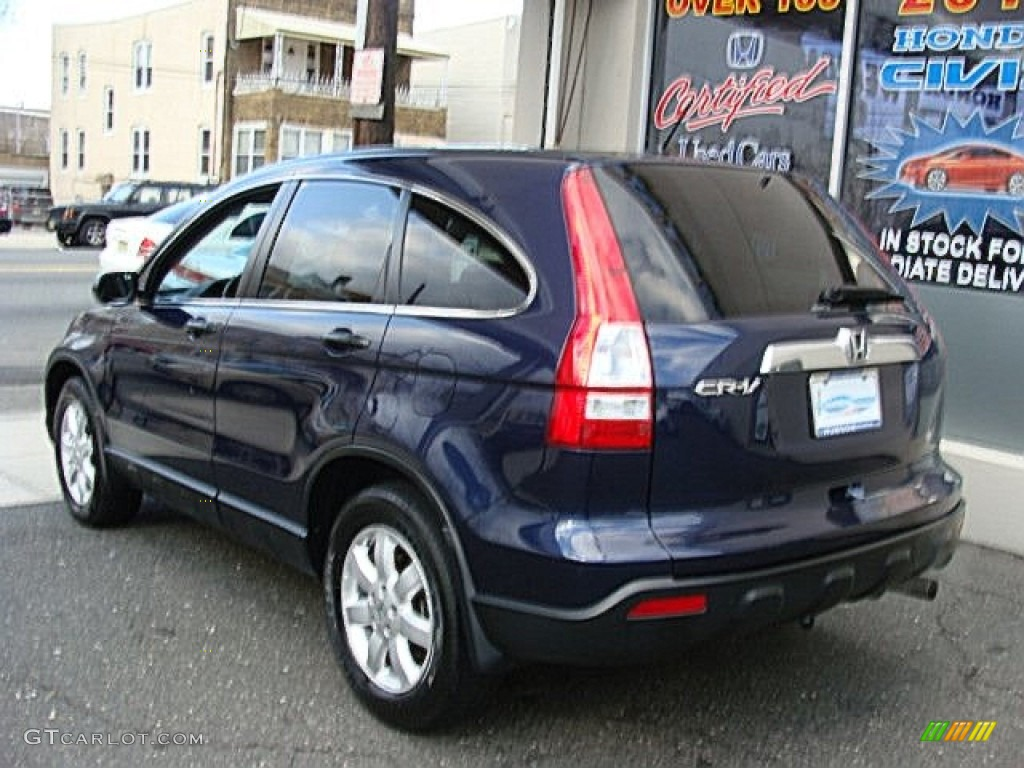 2008 CR-V EX 4WD - Royal Blue Pearl / Gray photo #4