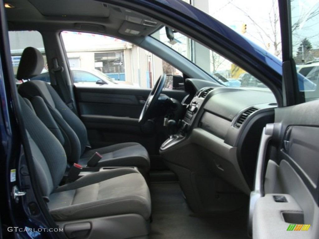 2008 CR-V EX 4WD - Royal Blue Pearl / Gray photo #8