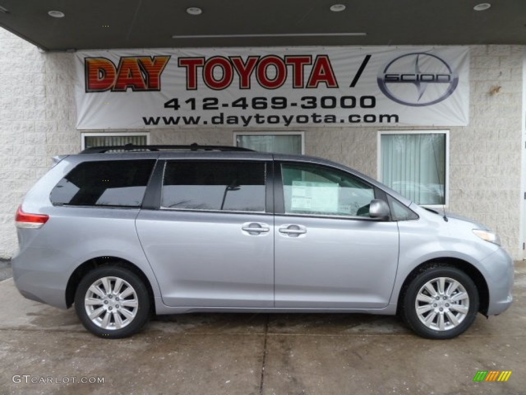 2012 Sienna LE AWD - Silver Sky Metallic / Light Gray photo #1