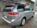 2012 Silver Sky Metallic Toyota Sienna LE AWD  photo #2