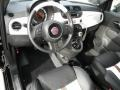 500 by Gucci Nero (Black) 2012 Fiat 500 Interiors