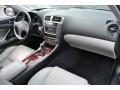 Sterling Gray Dashboard Photo for 2008 Lexus IS #59596920