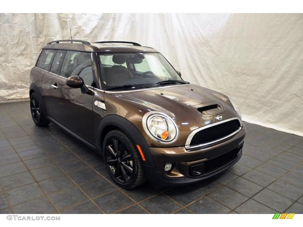 2011 Hot Chocolate Metallic Mini Cooper S Clubman 59583436 Photo
