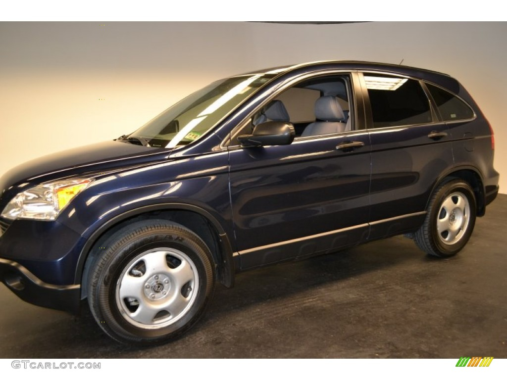 2008 CR-V LX - Royal Blue Pearl / Gray photo #6