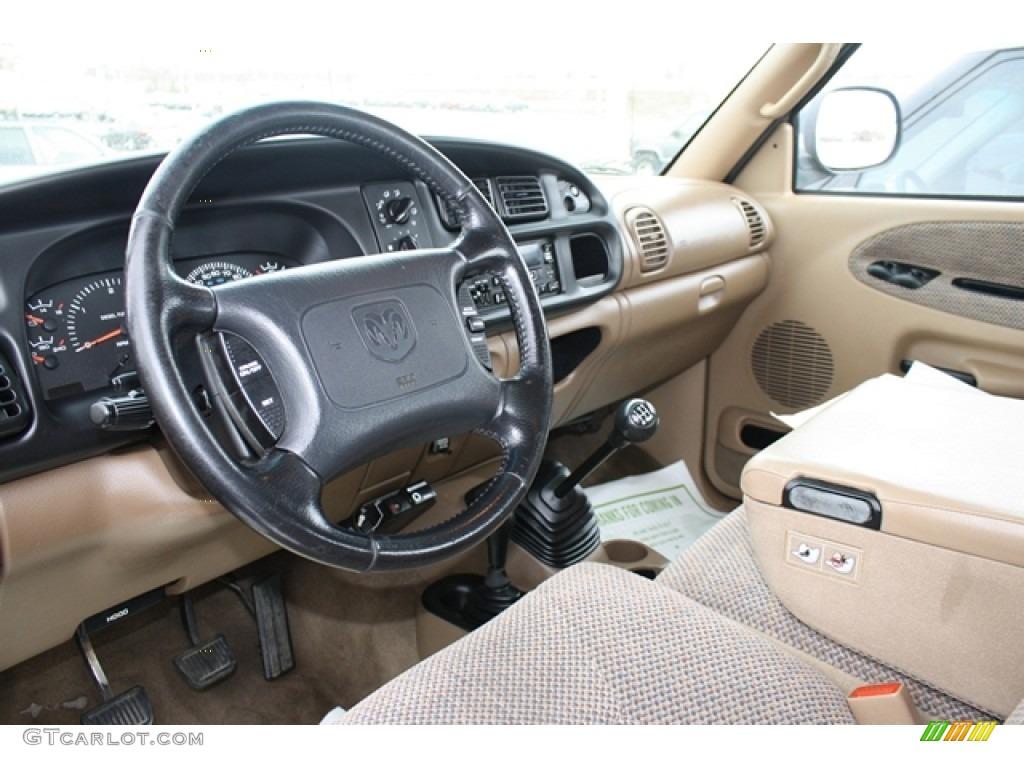 Camel Tan Interior 2000 Dodge Ram 2500 Slt Extended Cab 4x4 Photo 59608566