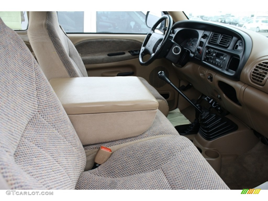 Camel Tan Interior 2000 Dodge Ram 2500 Slt Extended Cab 4x4 Photo 59608596