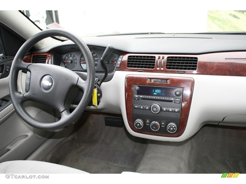 2008 Chevrolet Impala LS Gray Dashboard Photo #59610282