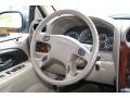2004 GMC Envoy Light Tan Interior Steering Wheel Photo