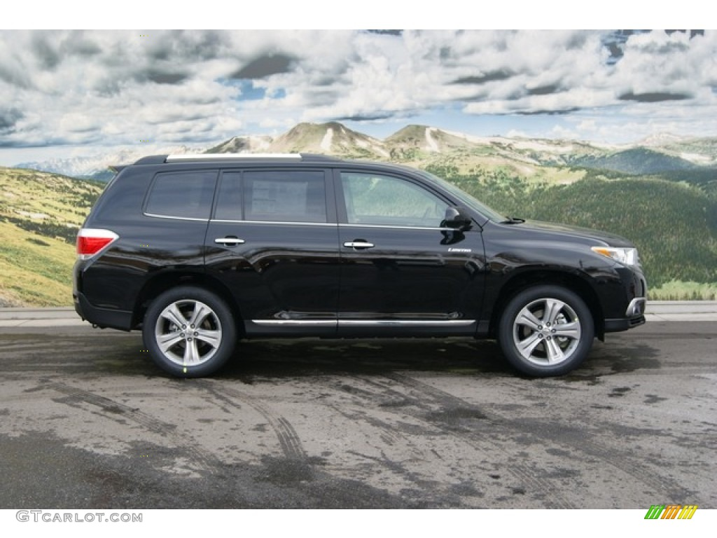 Black 2012 toyota highlander limited 4wd exterior photo 59614683 Toyota highlander 2014 exterior