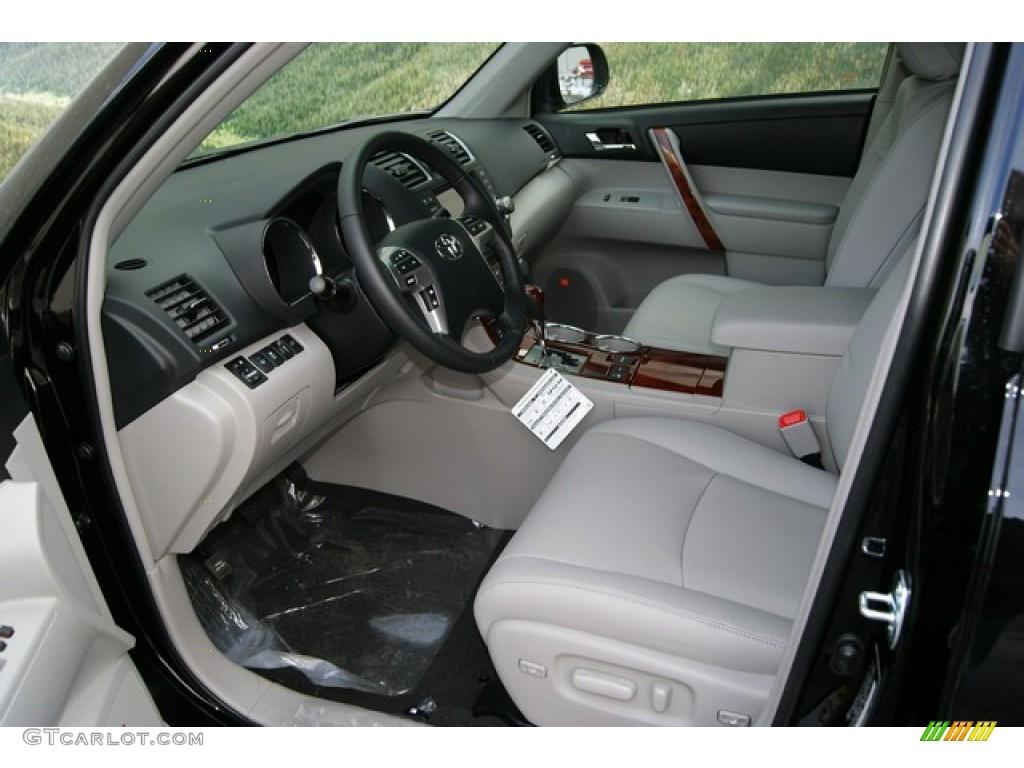 Ash Interior 2012 Toyota Highlander Limited 4wd Photo 59614701