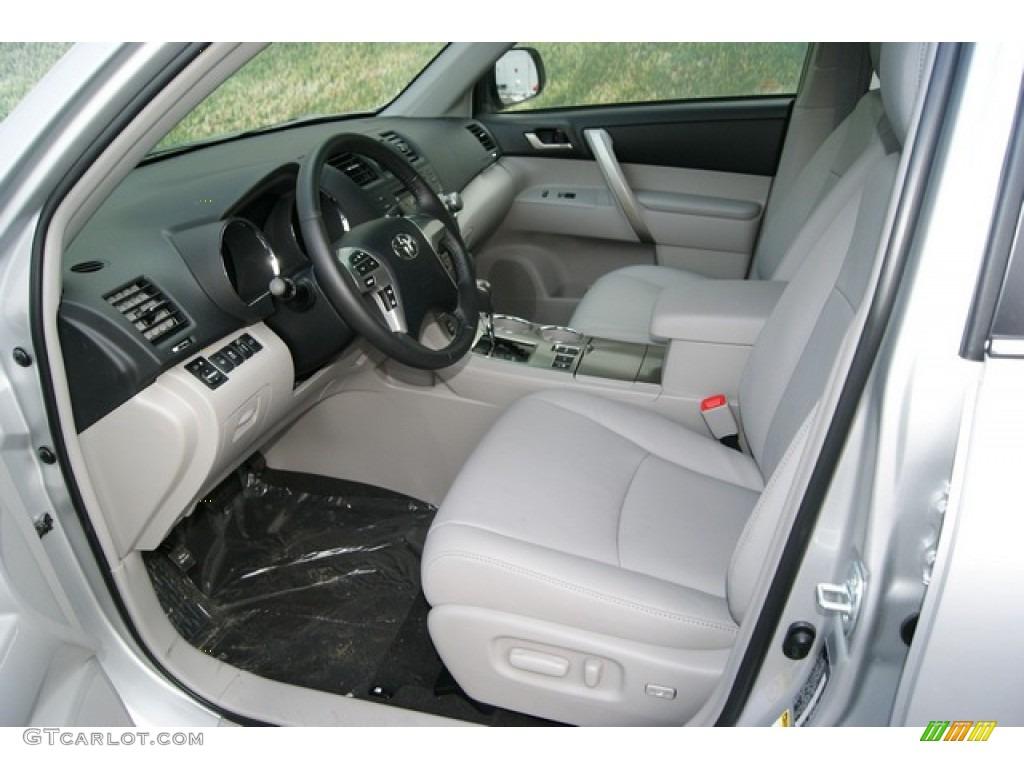 Ash Interior 2012 Toyota Highlander Se 4wd Photo 59614858