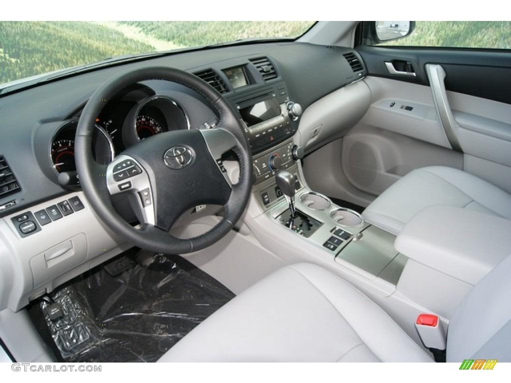 Ash Interior 2012 Toyota Highlander Se 4wd Photo 59614869