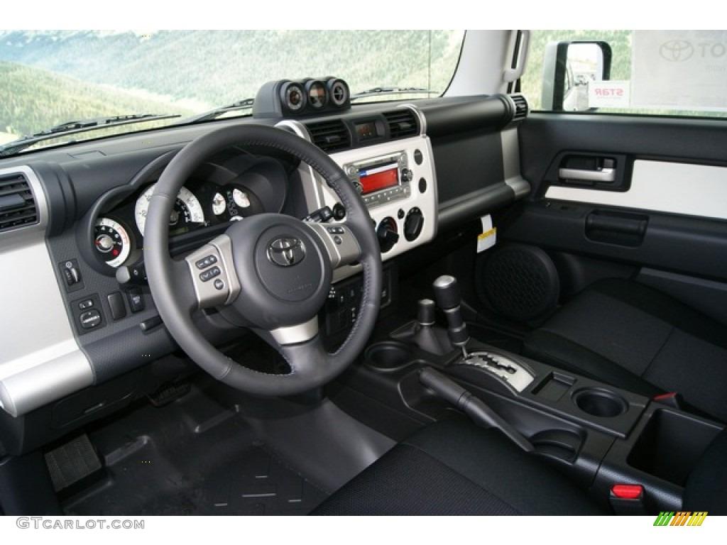 Dark Charcoal Interior 2012 Toyota Fj Cruiser 4wd Photo 59616213