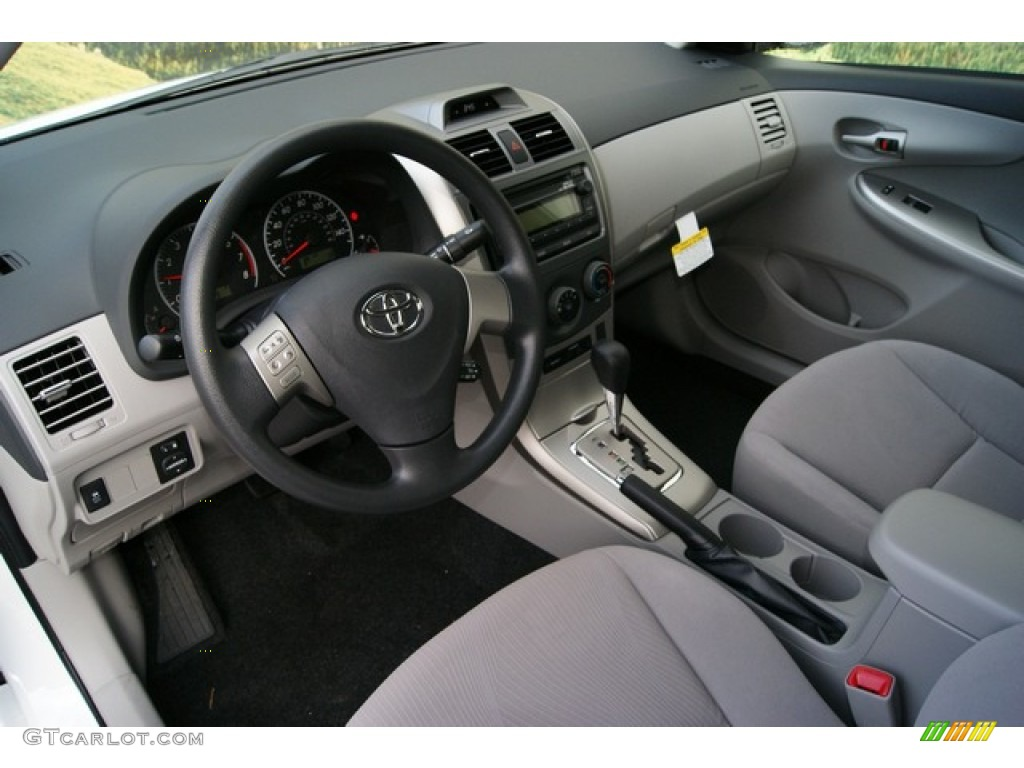 Ash Interior 2012 Toyota Corolla LE Photo #59617002 ...