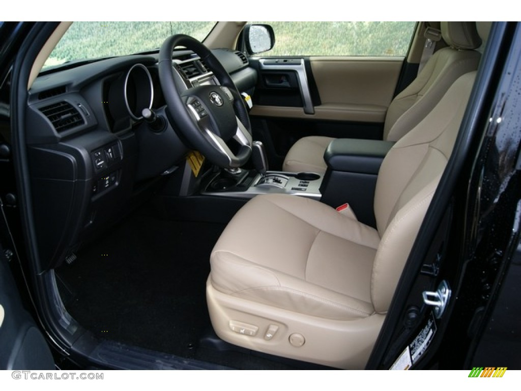 sand beige leather interior 2012 toyota 4runner limited. Black Bedroom Furniture Sets. Home Design Ideas