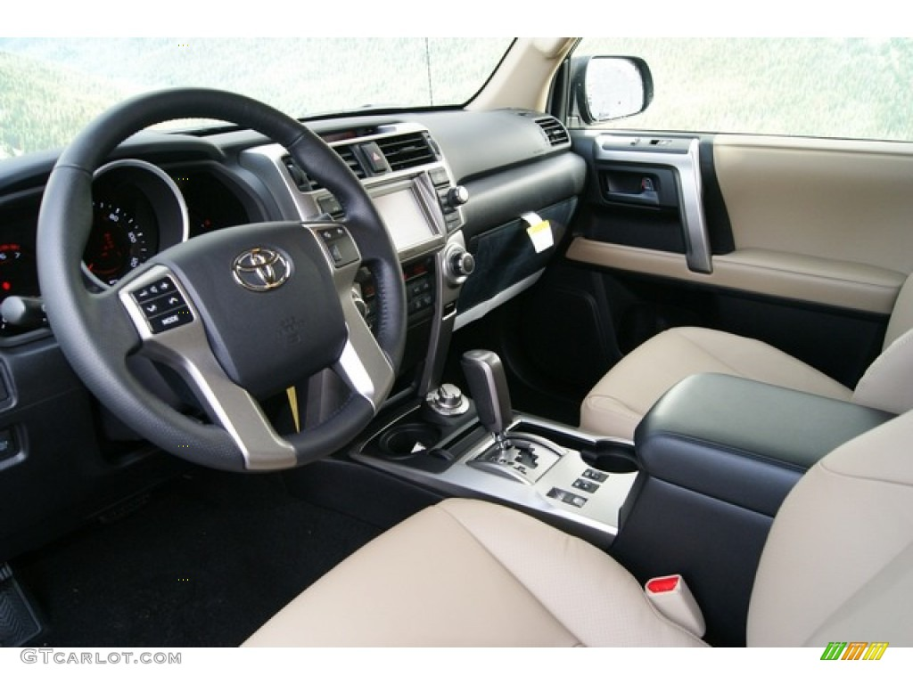 Sand Beige Leather Interior 2012 Toyota 4runner Limited 4x4 Photo 59618256