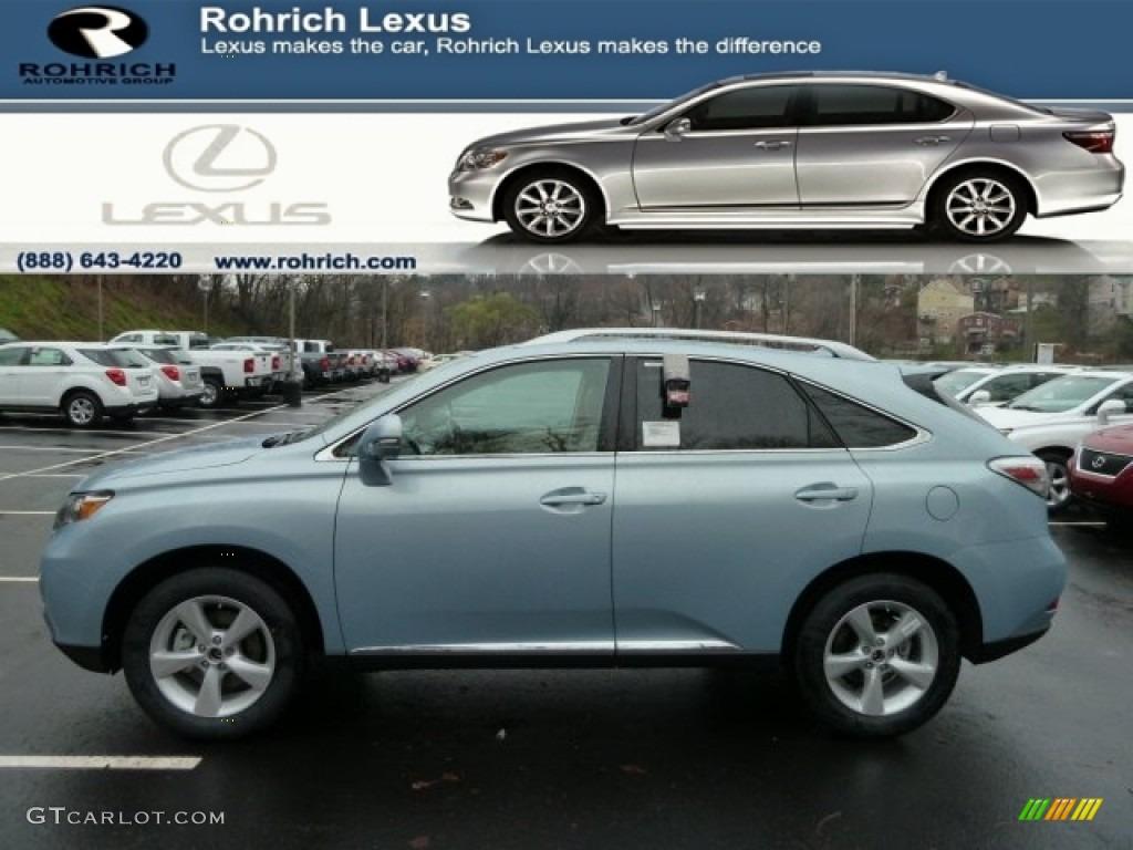 2012 Cerulean Blue Metallic Lexus RX 350 AWD 59583672