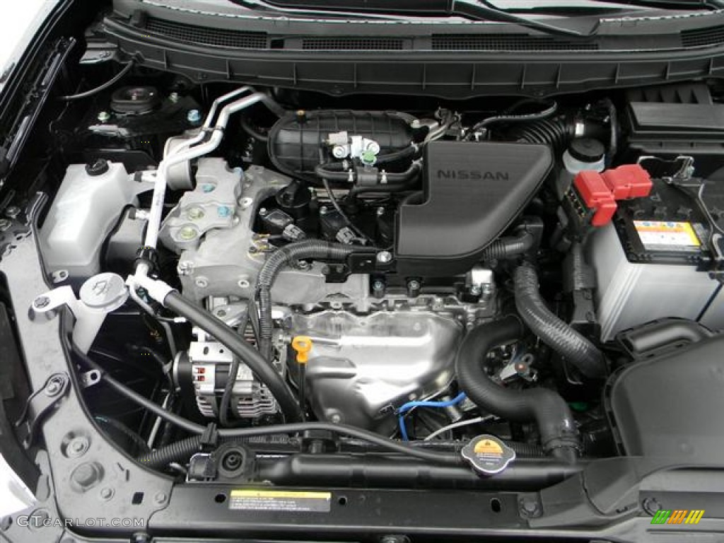 Lovely 2012 Nissan Rogue SV 2.5 Liter DOHC 16 Valve CVTCS 4 Cylinder Engine Photo #