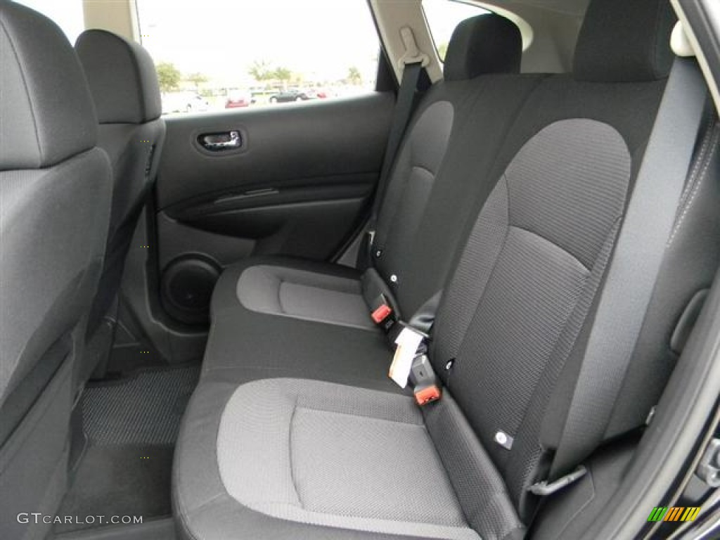Black Interior 2012 Nissan Rogue SV Photo #59620326 | GTCarLot.com
