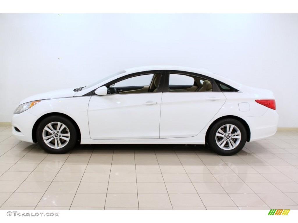 Pearl White 2011 Hyundai Sonata Gls Exterior Photo 59631234 Gtcarlot Com