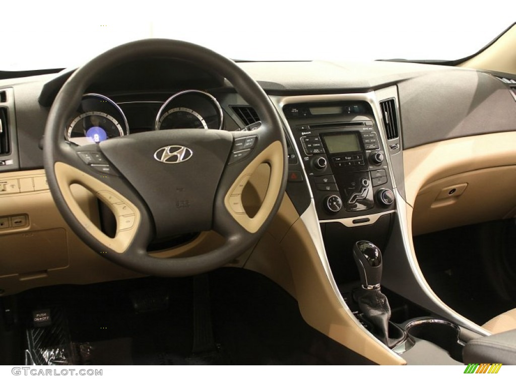 2011 Hyundai Sonata Gls Camel Dashboard Photo 59631256