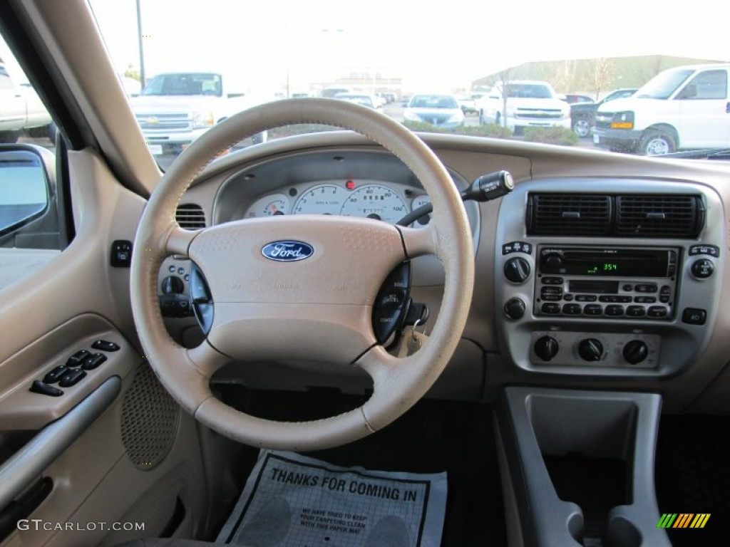 2001 Ford Explorer Sport Trac 4x4 Dashboard Photos