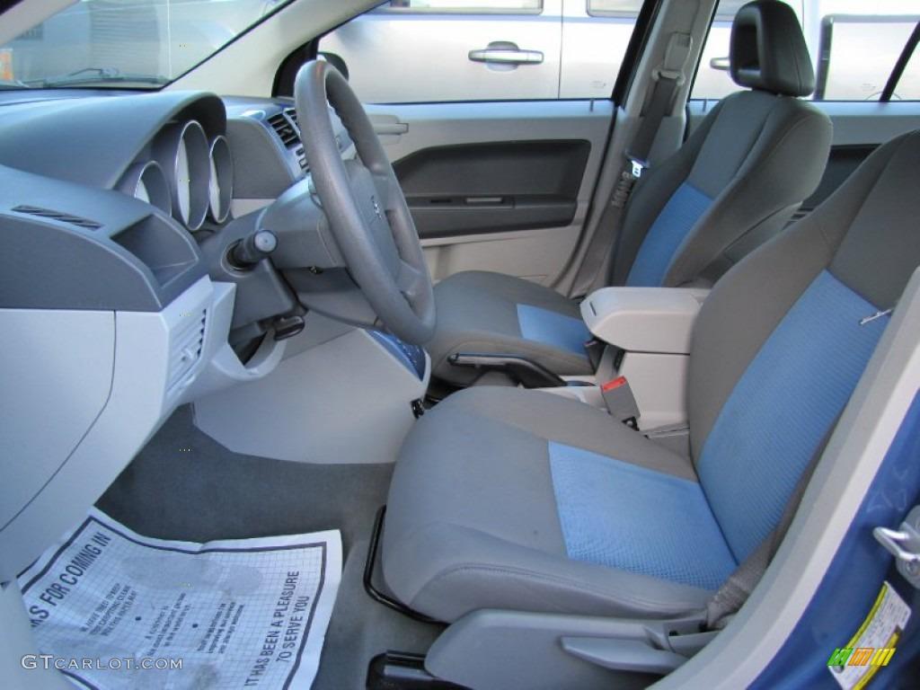 Pastel Slate Gray Blue Interior 2007 Dodge Caliber Sxt Photo 59636364