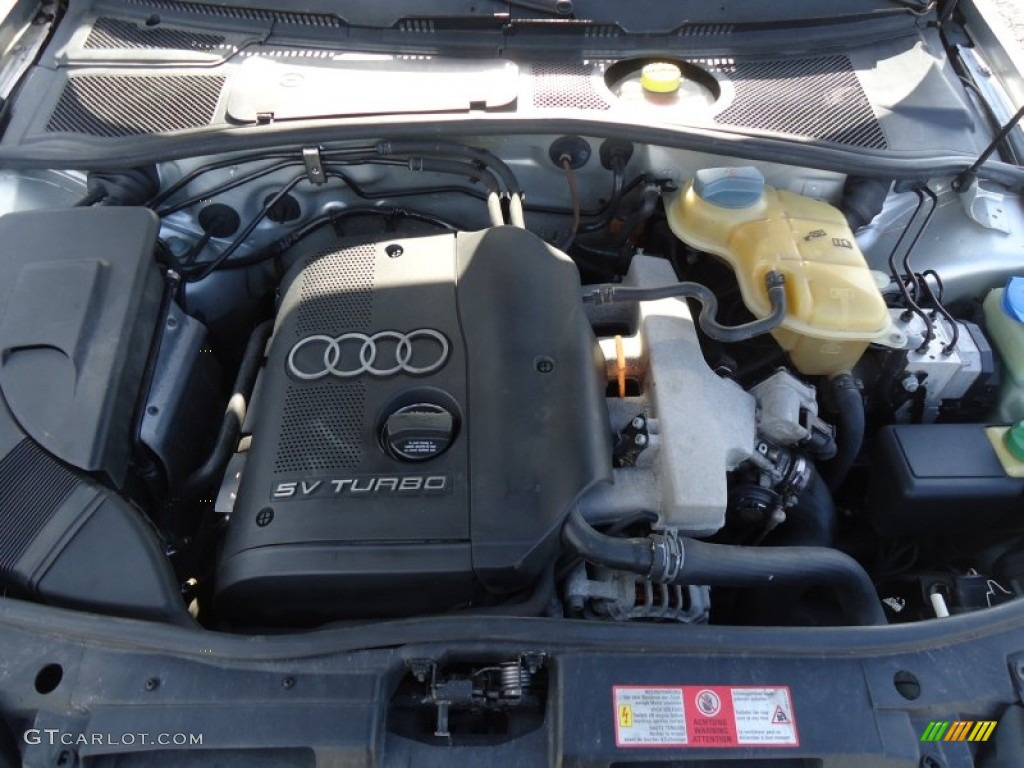 1999 Audi A4 1 8t Quattro Sedan Engine Photos