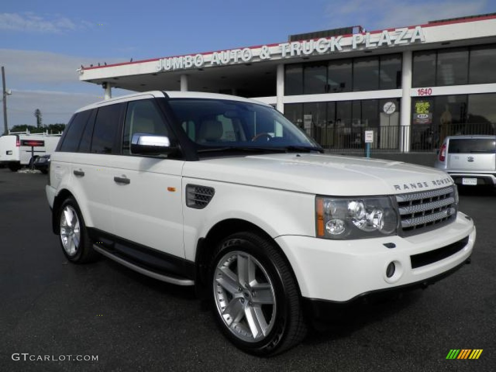 2006 chawton white land rover range rover sport supercharged 59639838 car. Black Bedroom Furniture Sets. Home Design Ideas