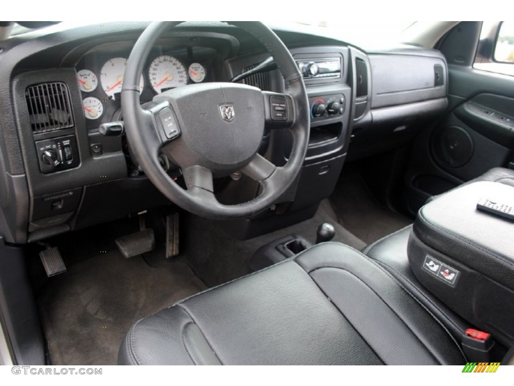 dark slate gray interior 2004 dodge ram 3500 slt quad cab. Black Bedroom Furniture Sets. Home Design Ideas