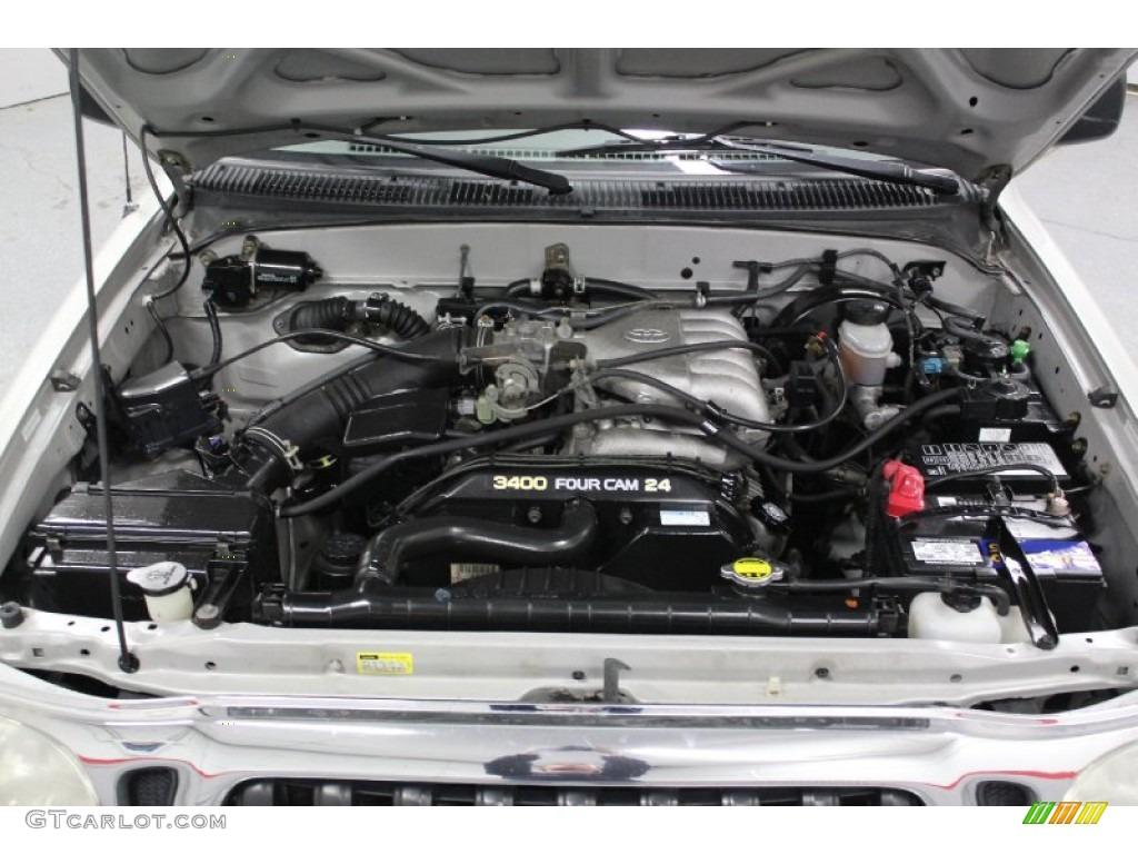 2001 Toyota Tacoma V6 Double Cab 4x4 Engine Photos