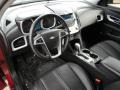 Jet Black Prime Interior Photo for 2010 Chevrolet Equinox #59673595