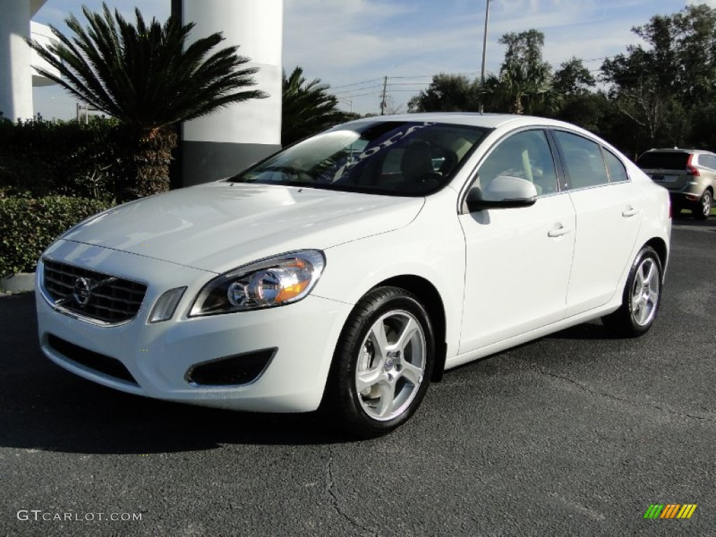 ice white 2012 volvo s60 t5 exterior photo 59676043. Black Bedroom Furniture Sets. Home Design Ideas
