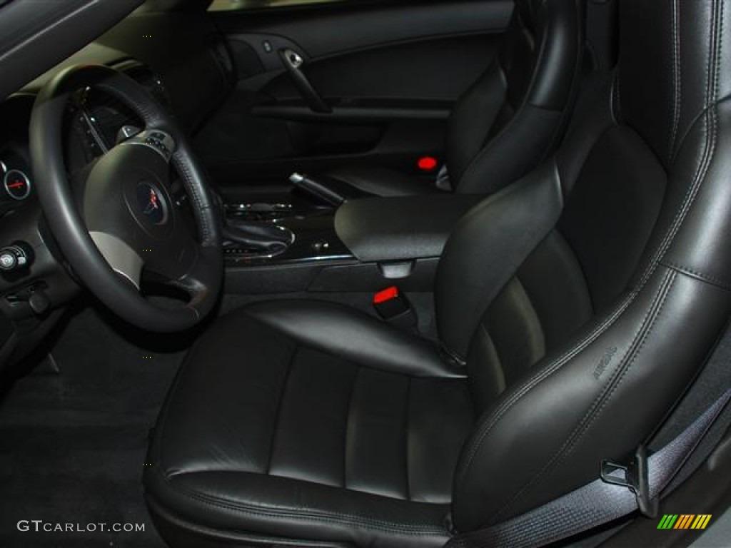 Ebony Black Interior 2011 Chevrolet Corvette Grand Sport Coupe Photo 59680652