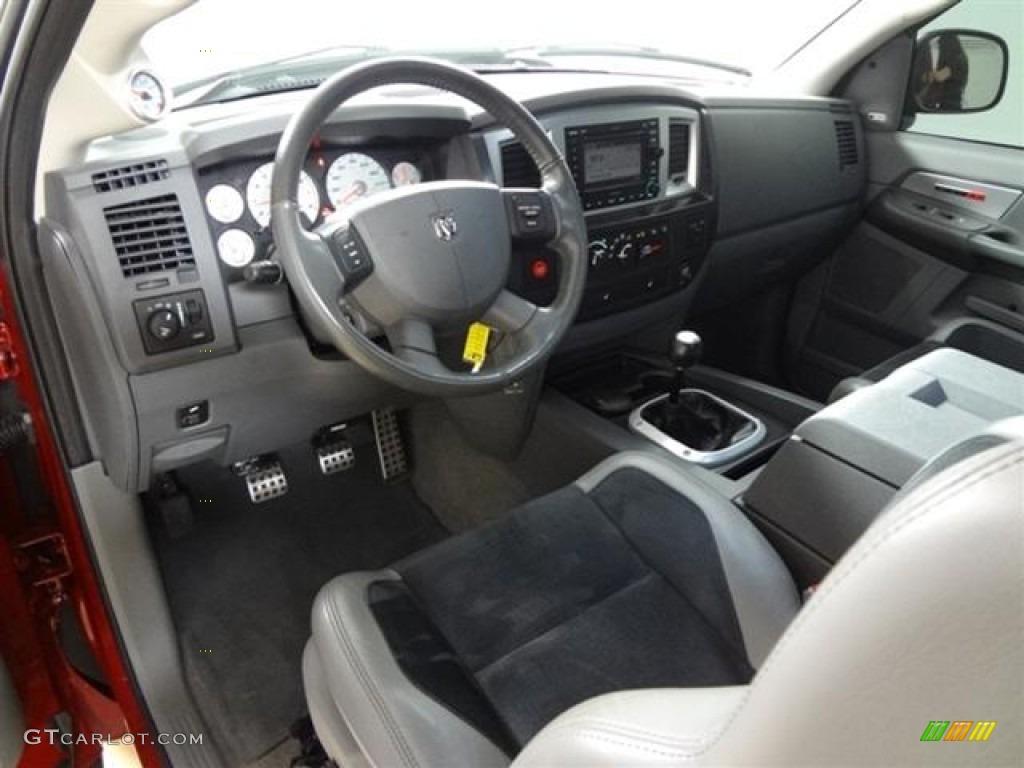 Medium Slate Gray Interior 2006 Dodge Ram 1500 Srt 10 Regular Cab Photo 59682398