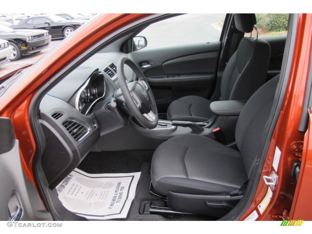 black interior 2012 dodge avenger sxt photo 59690312. Black Bedroom Furniture Sets. Home Design Ideas