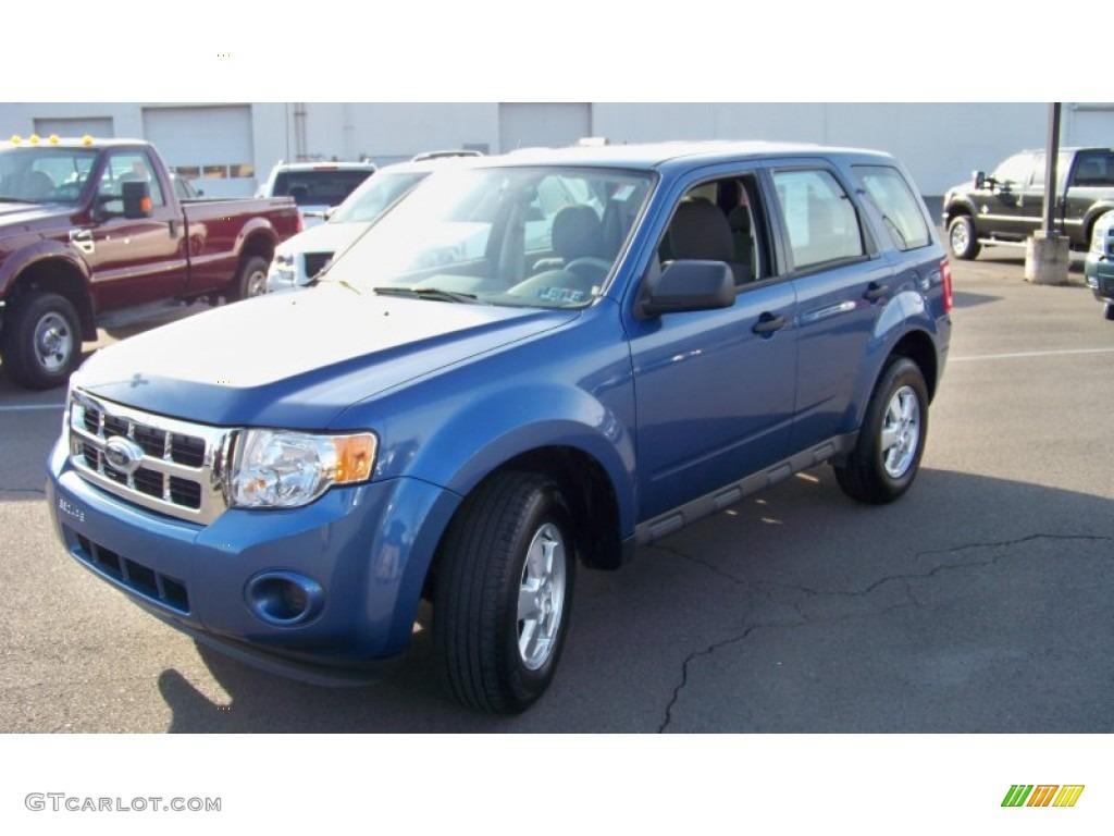 2009 Escape XLS 4WD - Sport Blue Metallic / Stone photo #1